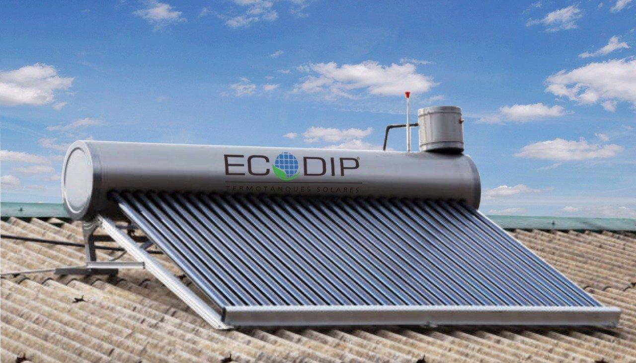 Comprar un termotanque solar en ECODIP