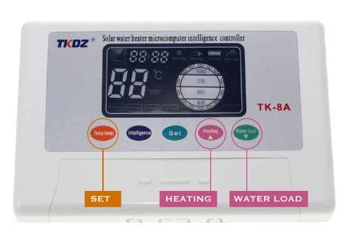 Como configurar programador TK-8A para termotanque solar ECODIP