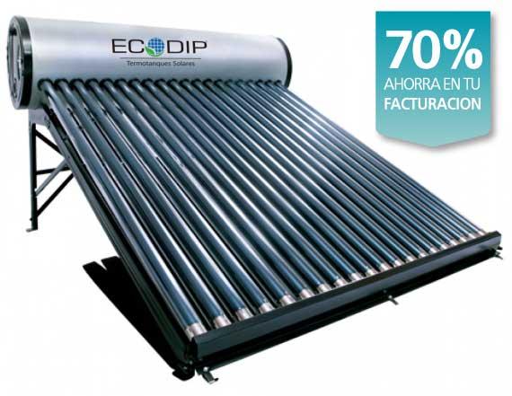 Calefon Solar Ecodip